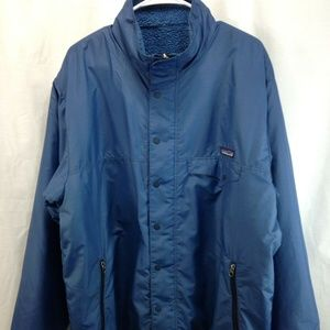 VTG Patagonia Reversible Nylon Fleece Coat Jacket